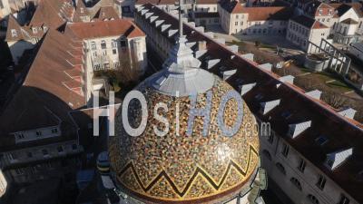 Notre-Dame-Du-Refuge à Besançon, Vidéo Drone
