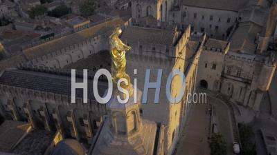 Palais Des Papes, Avignon, Vidéo Drone