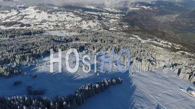 Station De Ski De Saint Gervais Les Bains, Vidéo Drone