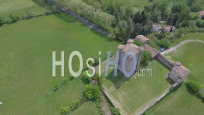 Château D'arques, Vidéo Drone