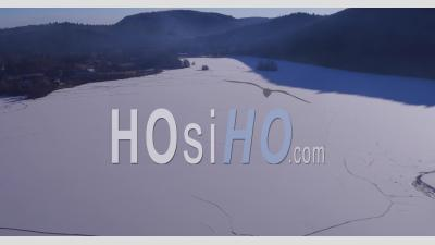 Le Lac Chambon, Auvergne Vidéo Drone