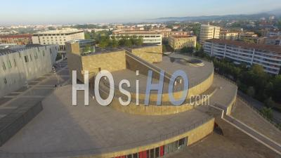 Grand Theater De Provence Seen By Drone