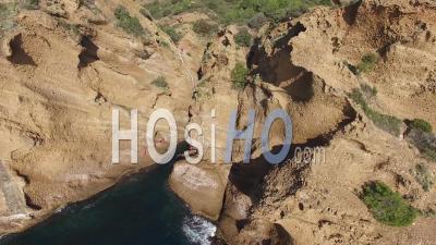 Creeks Of La Ciotat - Video Drone Footage