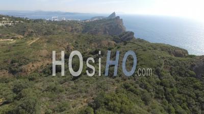 Falaises Des Calanques De La Ciotat - Vidéo Drone