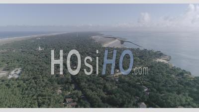 Cape Cap Ferret Beach, Video Drone Footage