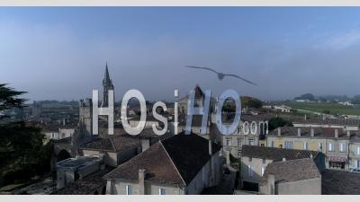 Saint-Emilion Village - Video Drone Footage