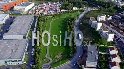 Parc Des Guillaumes, Pavillons De Noisy-Le-Sec, Vidéo Drone