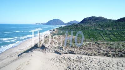 Japan - Tottori Sand Dunes, , Video Drone Footage