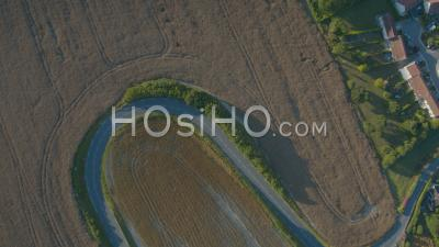 Cap Blanc Nez Curvy Chemins, Vidéo Drone