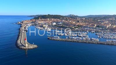 Port De Saint-Tropez, Vu Par Hélicoptère