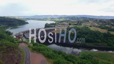 Villerest Dam, Vidéo Drone