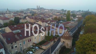 Vue De La Ville De Verdun Par Drone - Vidéo Drone