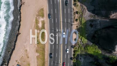 Motorway, Circuto De Playa, Lima, Peru By Drone