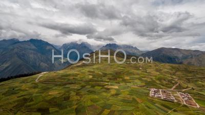 Andes Near Chinchero, Sacred Valley, Cusco Region, Peru By Drone
