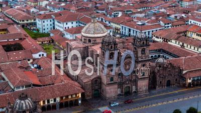 Natural History Museum ( Museo De Historia Natural ), Plaza De Armas, Cusco By Drone