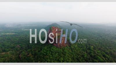 City Of Sigiriya, Sri Lanka - Video Drone Footage